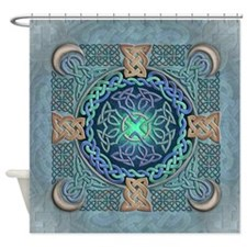 Celtic Eye of the World Shower Curtain