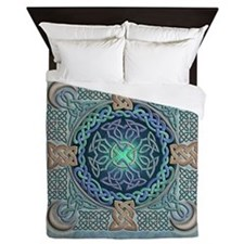 Celtic Eye of the World Queen Duvet Cover