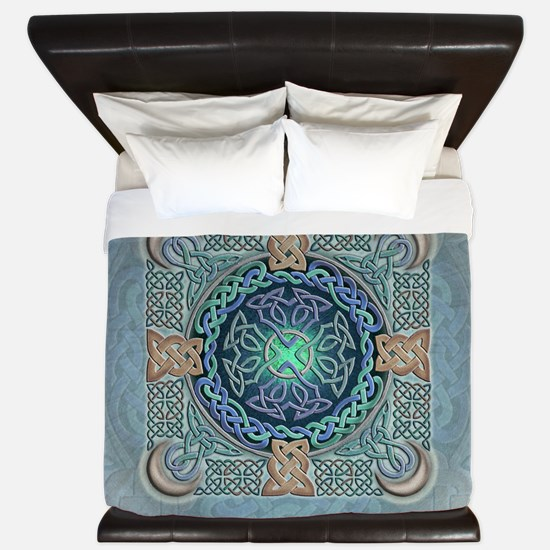 Celtic Eye of the World King Duvet Cover