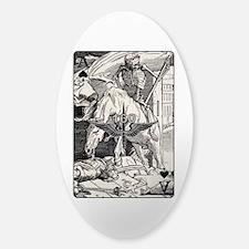 TF-160 Ace of Spades Sticker (Oval)