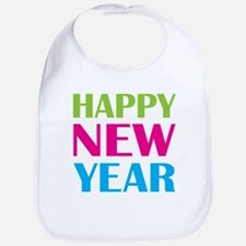 Happy New Year Neon Bib