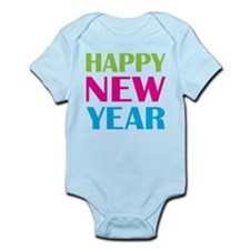 Happy New Year Neon Infant Bodysuit