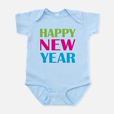 Happy New Year Neon Infant Bodysuit