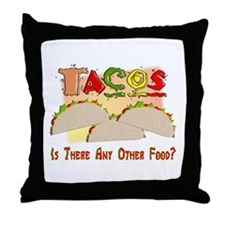 Food Lovers Throw Pillow