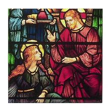 Mary Magdalene and Jesus Tile Coaster