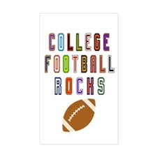 College Football Decal