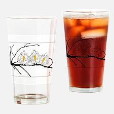 Three Little Birds Drinking Glass