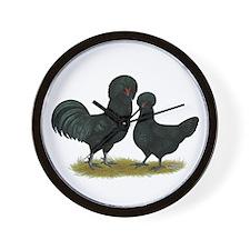 Crevecoeur Fowl Wall Clock
