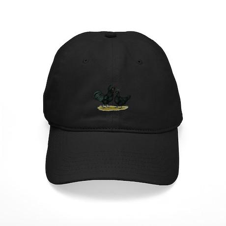 Crevecoeur Fowl Black Cap