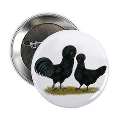 "Crevecoeur Fowl 2.25"" Button (100 pack)"
