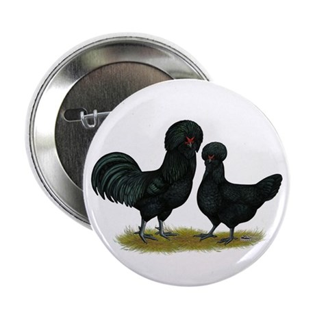 "Crevecoeur Fowl 2.25"" Button (10 pack)"