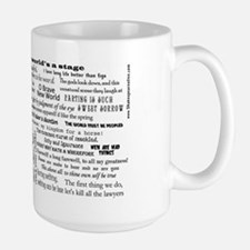 Complete Works of Shakespeare Large Mug