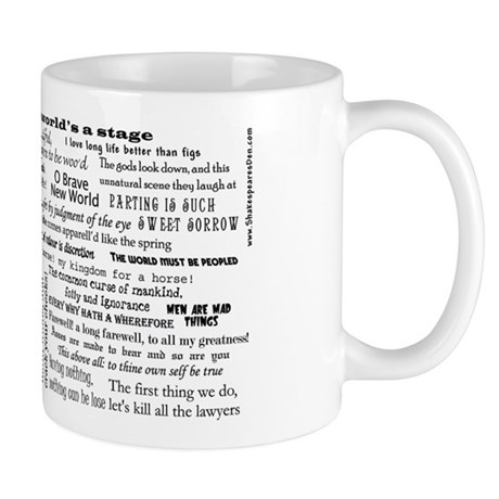 Complete Works of Shakespeare Mug