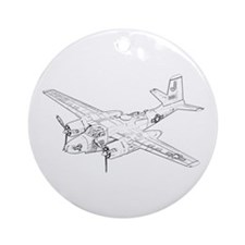 Douglas A-26 Invader Ornament (Round)