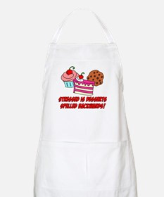 Stressed Is Desserts Apron