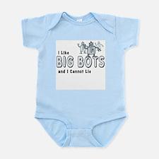 I Like Big Bots Infant Bodysuit