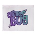 Glitterbug Throw Blanket