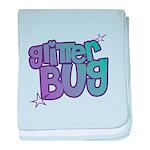 Glitterbug baby blanket