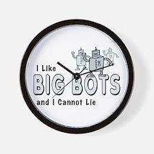 I Like Big Bots Wall Clock