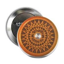 Starburst Mandala Button