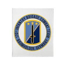 170th IBCT Baumholder Throw Blanket