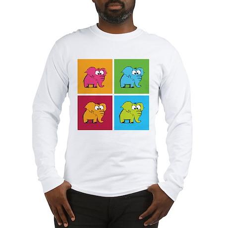 Cute elephants Long Sleeve T-Shirt