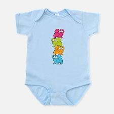 Cute elephants Infant Bodysuit
