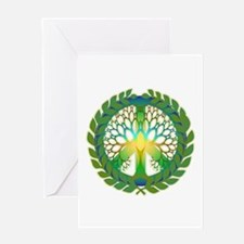 Grow Peace Greeting Card