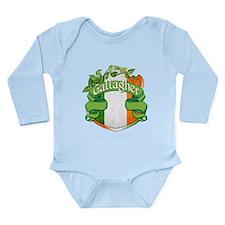 Gallagher Shield Long Sleeve Infant Bodysuit