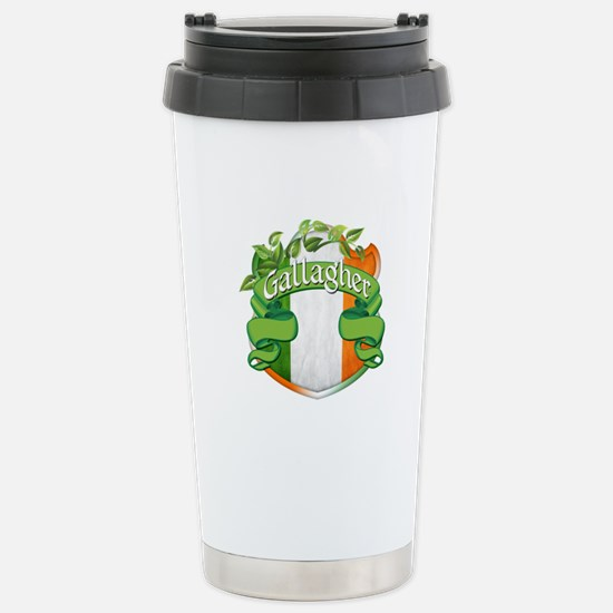 Gallagher Shield Stainless Steel Travel Mug