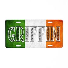 Griffin Shield Aluminum License Plate