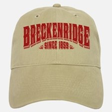 Breckenridge Since 1859 Black Baseball Baseball Cap