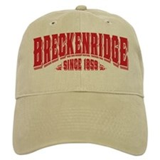 Breckenridge Since 1859 Black Baseball Cap