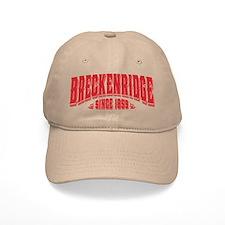 Breckenridge Since 1859 Black Baseball Cap