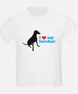 I Love My Lurcher T-Shirt