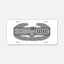 Combat Action Badge Aluminum License Plate