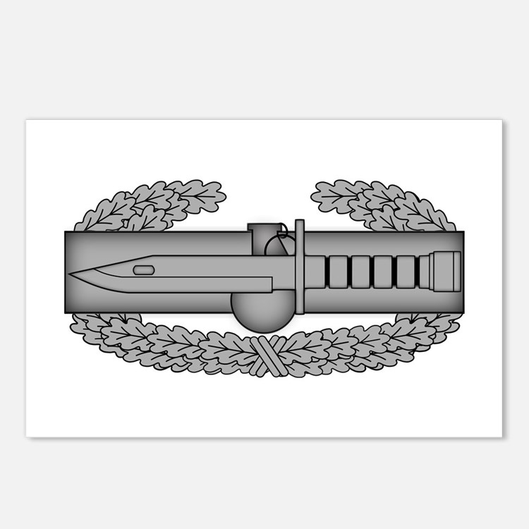 Combat Action Badge Postcards (Package of 8)