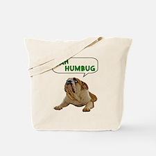 Scrooge Bulldog Tote Bag