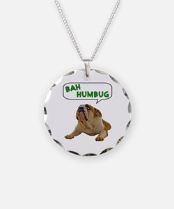 Scrooge Bulldog Necklace