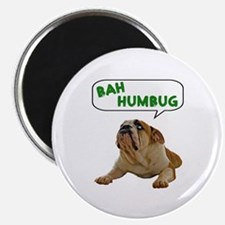 Scrooge Bulldog Magnet