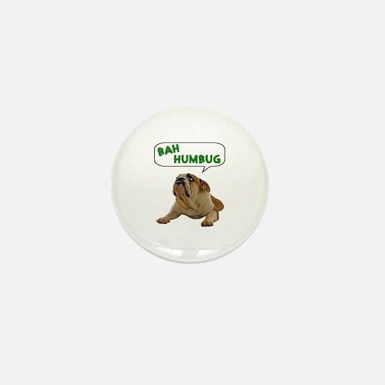 Scrooge Bulldog Mini Button