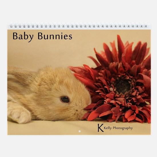Wall Calendar - Baby Bunnies