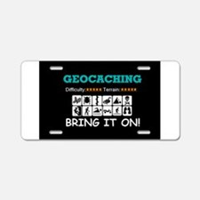 Bring It On! Aluminum License Plate