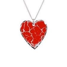 Broken Heart Necklace Heart Charm
