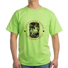 Alice Falls Down the Rabbit Hole T-Shirt