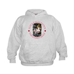 Alice Falls Down the Rabbit Hole Hoodie