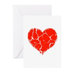 Broken Heart Greeting Cards (Pk of 20)