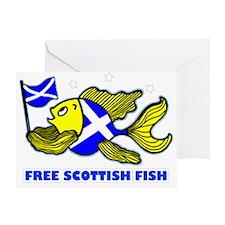 Free Scottish Fish Greeting Card