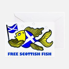 Free Scottish Fish Greeting Card