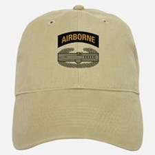 CAB w Airborne Tab - Gold Baseball Baseball Cap